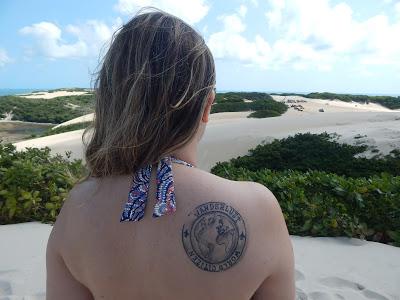 Inspiração: Tatuagens para quem ama viajar