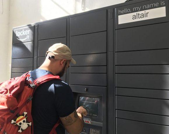 Como usar o Amazon Locker para receber compras nos Estados Unidos