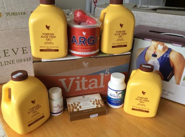 Vital5 Nutrient Super Highway Core Products with Forever Aloe Vera Gel