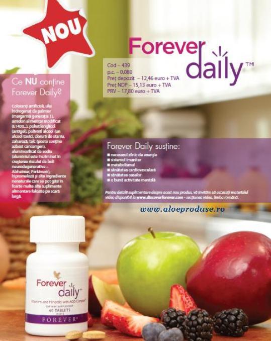 forever daily supliment nutritiv forever pe baza de legume si fructe
