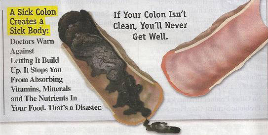 colon cleasnig 222 - Death Begins with a Dirty Colon - Clean Colon with Aloe Vera Gel