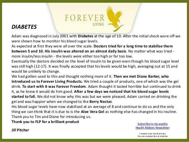 flp testimonials diabetes