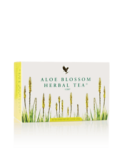 Aloe Blossom Herbal Tea, Zero Calories, No caffeine, Full spiced, fruity flavor