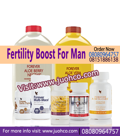 Fertility Boost For Man - Fertility Products Pack