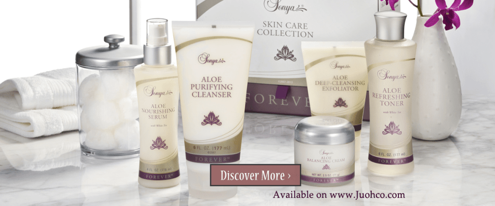 Forever Aloe skin care collection