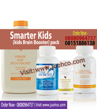 Smarter Kids pack kids Brain Booster
