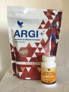 Forever Living ARGI+ with L-Arginine,30 sachts+Bee Pollen 100 tabl.