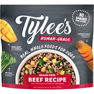 Buy 1, Get 1 Free on Tylee's Frozen Human-Grade Dog Food. Beef, Chicken, Turkey, & Pork!