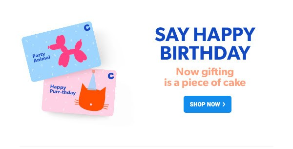 eGift Card for Birthdays