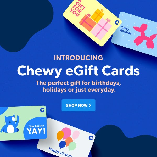 Chewy eGift Card for Special Occasions