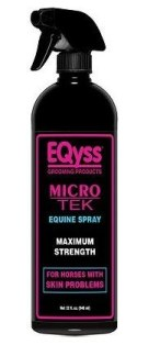 EQyss Grooming Products Micro-Tek Soothing Horse Spray for skin irritation.