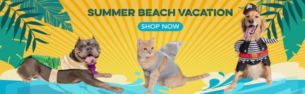 Cat Beach Party