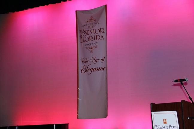 Rene Magnifico at Florida Senior Pageant