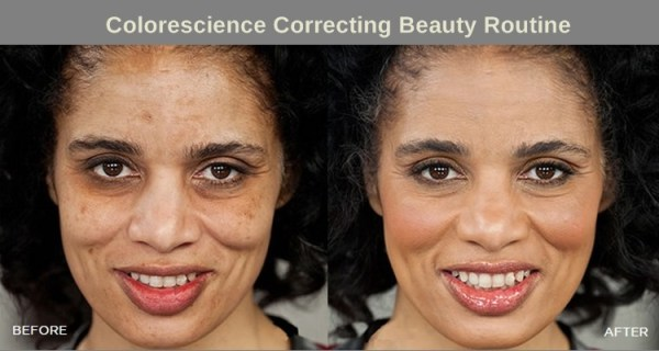 colorescience-before-after-correcting-beauty-routine