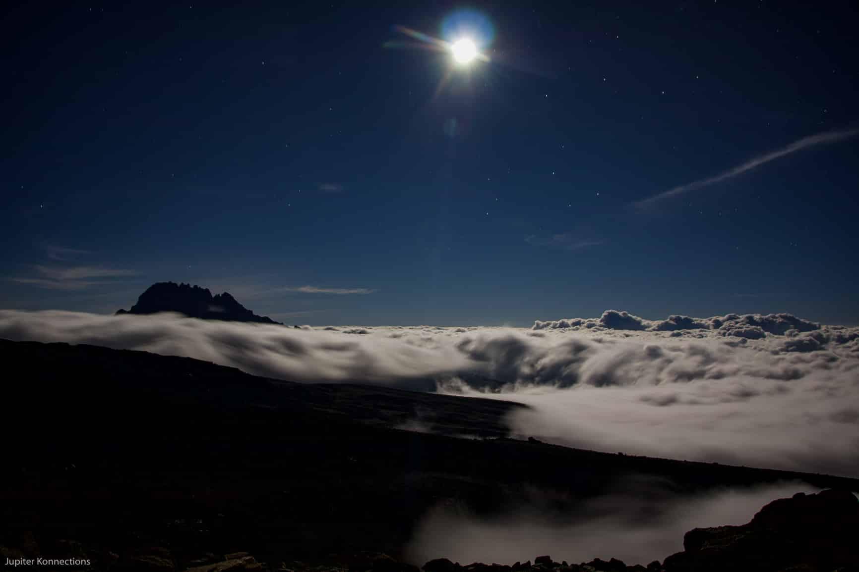 Kilimanjaro Full Moon Climb