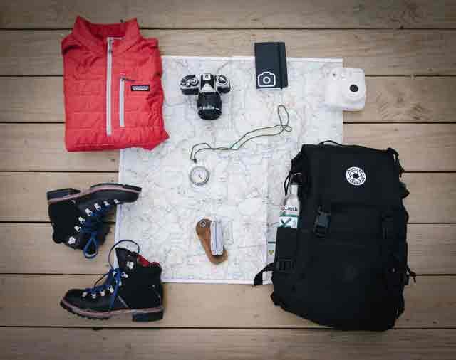 Preparing for hiking