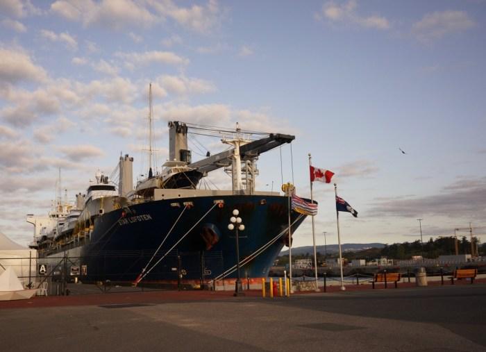 Arrival in British Columbia
