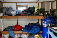 Sleeping Quarters aboard Front Runner