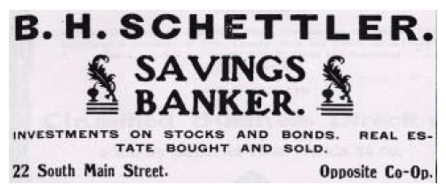 B. H. Schettler: The Personification of Mormon Sainthood