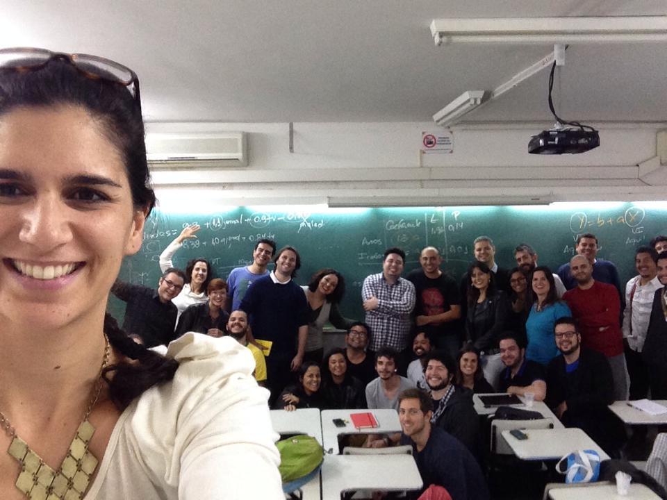 Selfie coletivo