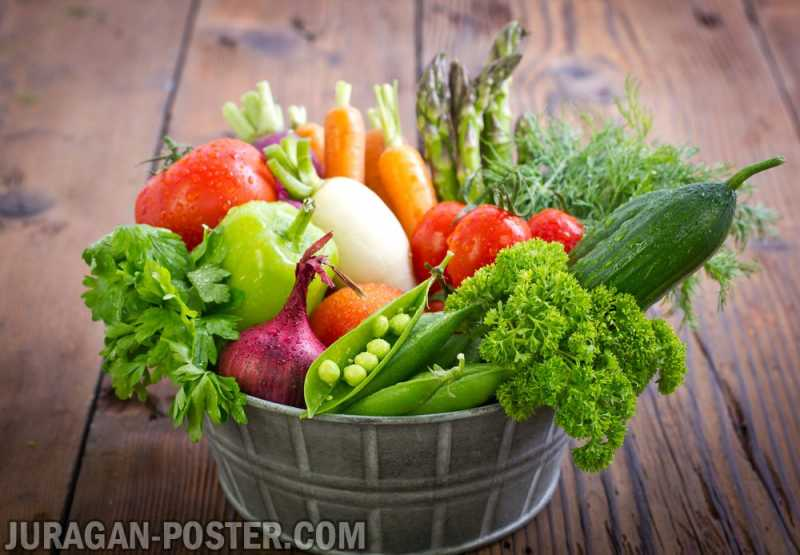 Vegetables Jual Poster Di Juragan Poster