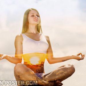 Yoga  Jual Poster di Juragan Poster