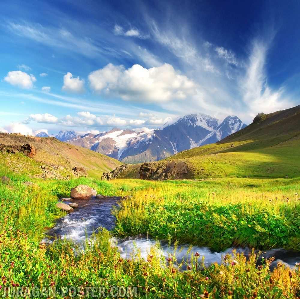 Contoh Gambar Pemandangan Indah untuk Dekorasi  Jual