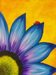 Lukisan Bunga Sederhana  Jual Poster di Juragan Poster