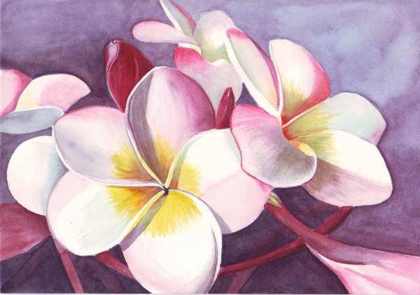 Lukisan Bunga Sederhana - Jual Poster Di Juragan
