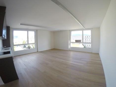 Studio neuf au 3ème étage au centre de Delémont