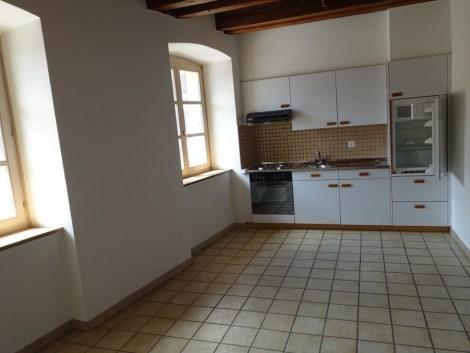 Appartement de 2.5 pièces en duplex en vieille-ville de Delémont