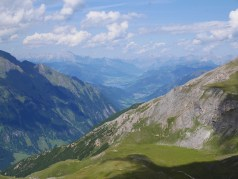 View towards Zell am See from Edelweisspitze