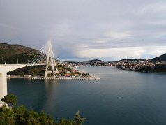 The new part of Dubrovnik