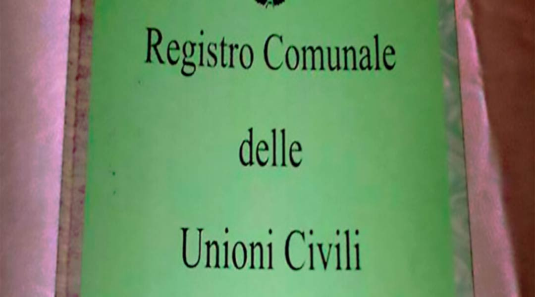 Registro unioni civili