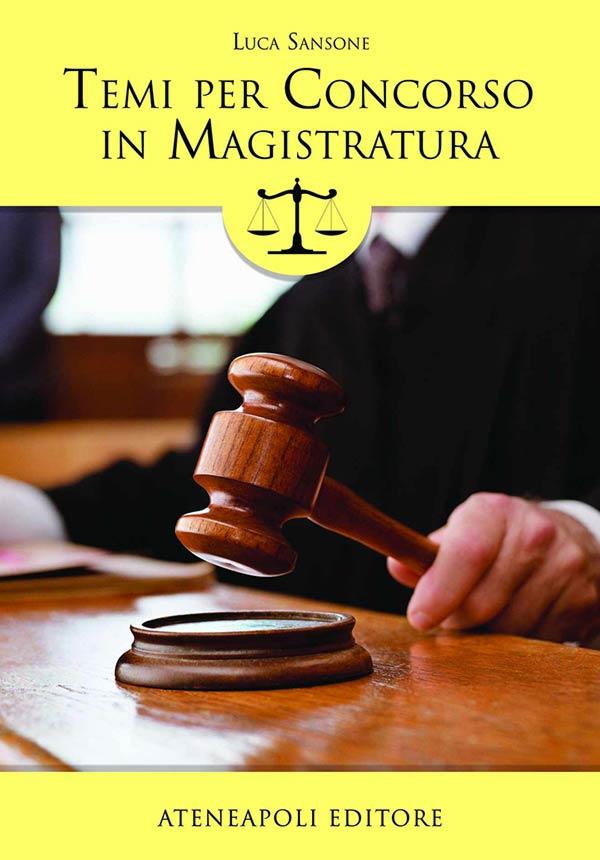 Temi per Concorso in Magistratura