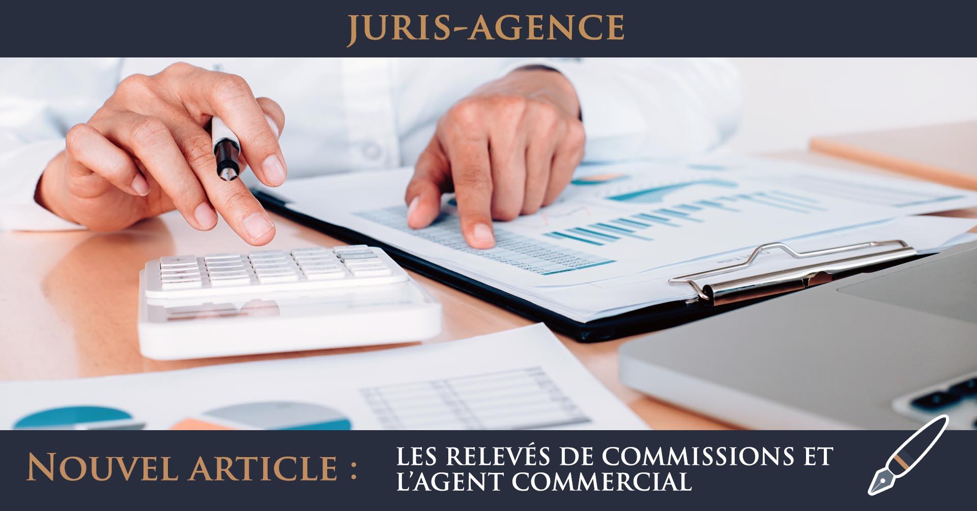 illustration comptabilité relevé commissions agent commercial