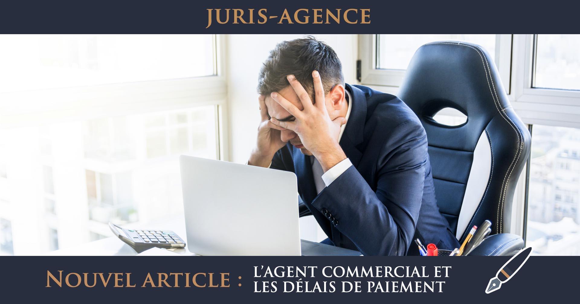 illustration agent commercial et délais de paiement