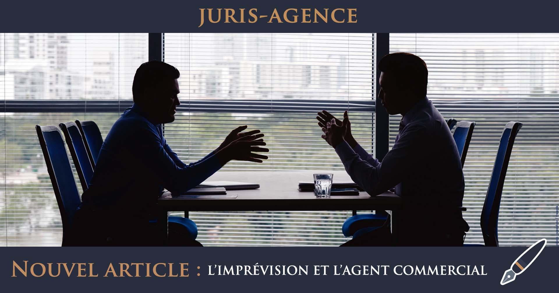 imprévision négociation agent commercial