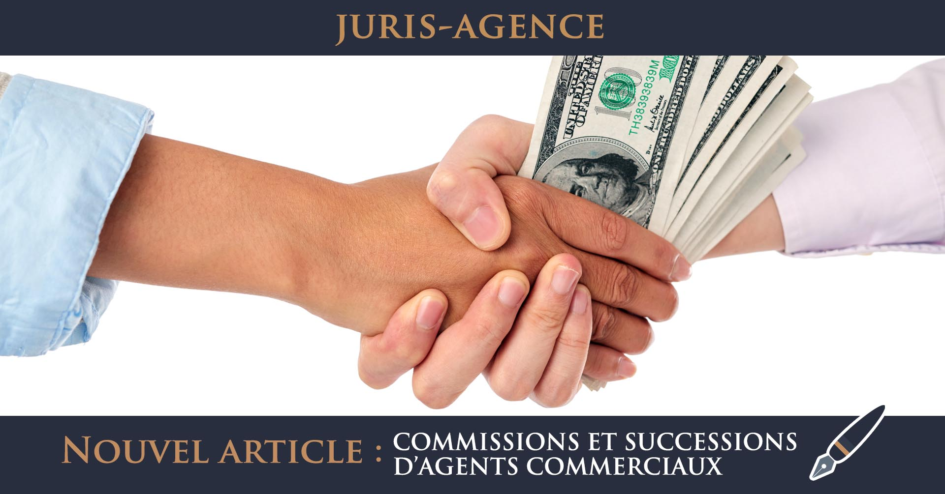 commissions successions agents comerciaux