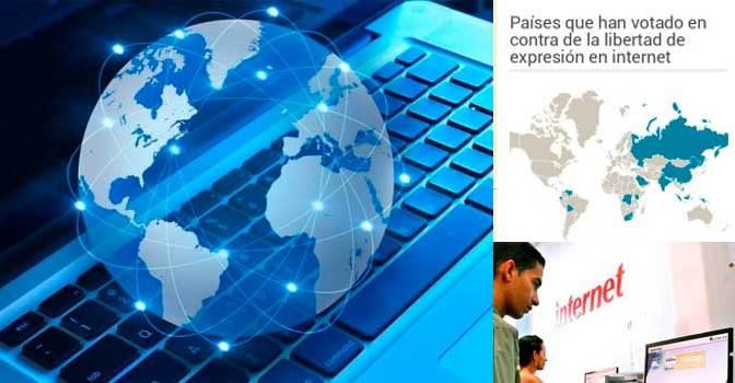 ¿Cuál es la posición de Cuba ante la resolución aprobada por el Consejo de Derecho Humanos sobre la Promoción, protección y disfrute de los derechos humanos en Internet?
