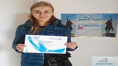 Handbal : Yulia Dumanska a primit Diploma de Participare la Gala Craiova de Zece 1
