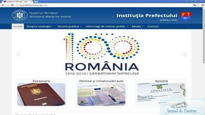 Noul site al Institutiei Prefectului - Judetul Dolj www.dj.prefectura.mai.gov.ro 1