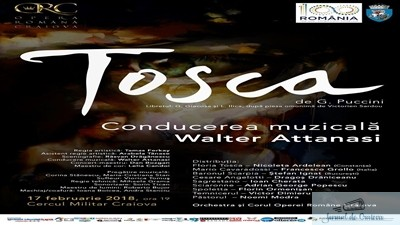 Opera Romana Craiova va invita la Tosca 1