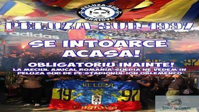 Fotbal : Peluza Sud 1997 se intoarce ACASA ! 1