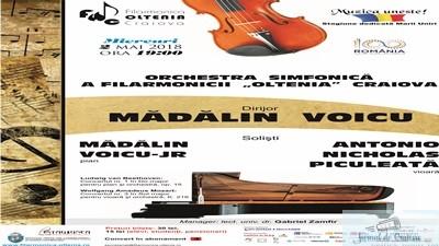 Concert Beethoven/Mozart   la Filarmonica Oltenia Craiova