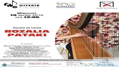 Recital de harpa Rozalia Pataki la Muzeul de Arta din Craiova