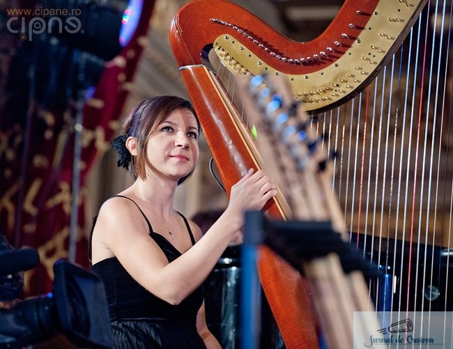 Recital de harpa Rozalia Pataki la Muzeul de Arta din Craiova 1