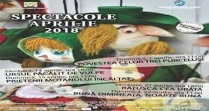 Spectacole in week-end si ateliere de creatie, de luni, la Teatrul Colibri 22