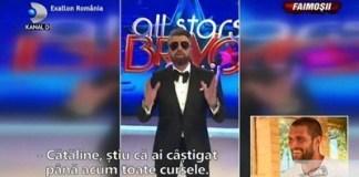 """Exatlon: Faimosii au castigat proba de comunicare! Surpriza inedita din partea lui Catalin Botezatu: """"Esti prietenul meu si te iubesc"""""""