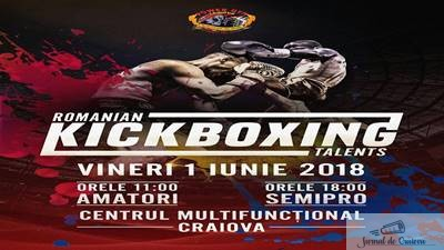 KickBox:  Kickboxing Talents la Centrul Multifunctional pe 1 iunie ! 1